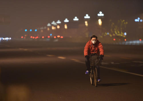 ادامه آلودگی هوا در پکن