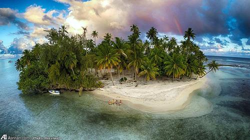 جزیره فراموش شده TAHAA در فرانسه
