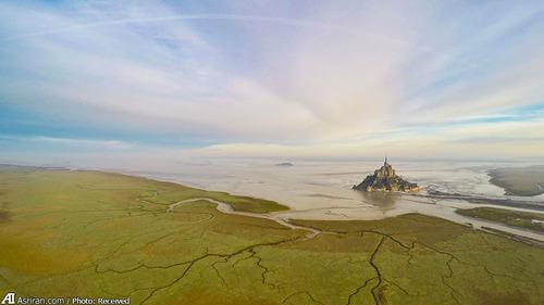 مونت سنت میشل در نورماندی، فرانسه