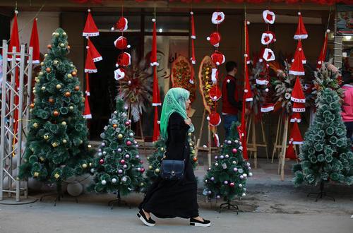 حال و هوای کریسمس در شهر غزه