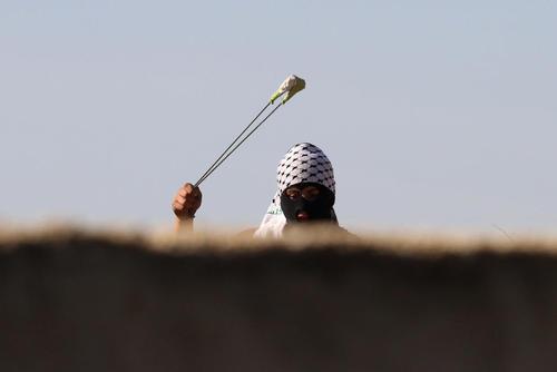 مصاف جوانان فلسطینی با سربازان اسراییل – نابلس و رام الله
