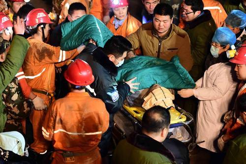 سانحه معدن در چین