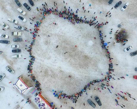 جشنواره سالانه ورزش های زمستانی در منطقه مغول نشین چین