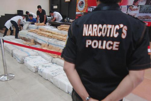 کشف یک و نیم تن ماریجوانا از سوی پلیس اندونزی – جاکارتا