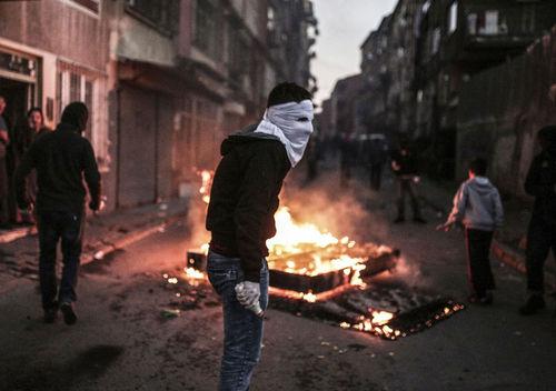 درگیری معترضان و پلیس ترکیه در استانبول
