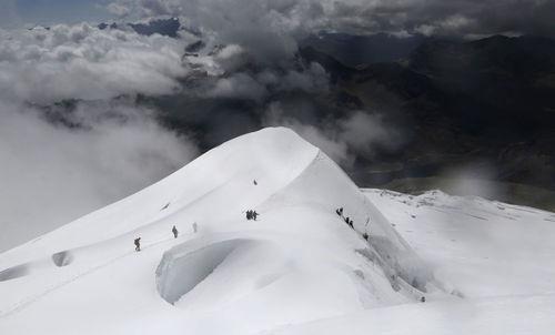 کوه Huayna Potosi در بولیوی