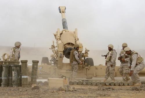 حمله نظامی ائتلاف نظامی به رهبری عربستان سعودی به یمن