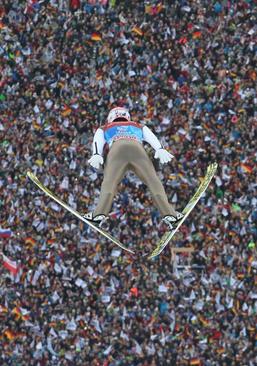 مسابقات پرش با اسکی در پارتنکیرشن، آلمان