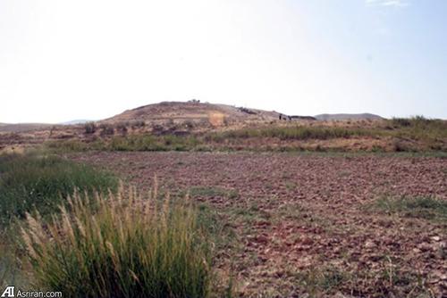 نمایی از تپه قشلاق