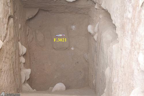 بقایای معماری دوره مس و سنگ قدیم