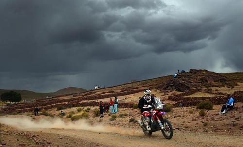 مسابقات موتور سواری رالی داکار در بولیوی