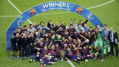 بارسلونا قهرمان لیگ قهرمانان اروپا