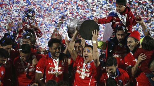 اولین قهرمانی کوپا آمریکا برای شیلی