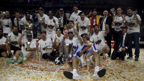 رئال مادرید قهرمان بسکتبال یورولیگ