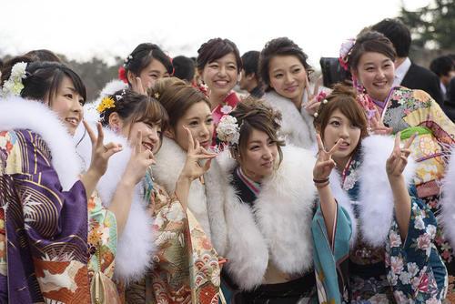 جشن بیست ساله شدن بیش از 1 میلیون و 210 هزار ژاپنی در سال 2015 – ناگویا