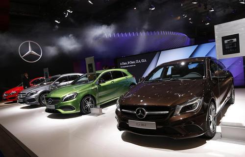 نودوچهارمین نمایشگاه خودرو اروپا در بروکسل بلژیک
