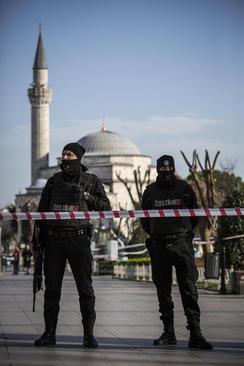 ترتیبات امنیتی در استانبول در پی حادثه تروریستی روز سه شنبه در میدان سلطان احمد