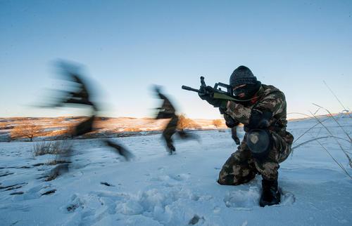 رزمایش نیروهای ویژه ارتش چین