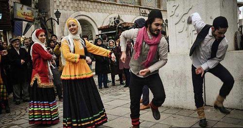 عکس رقص مختلط حوادث رشت اخبار رشت