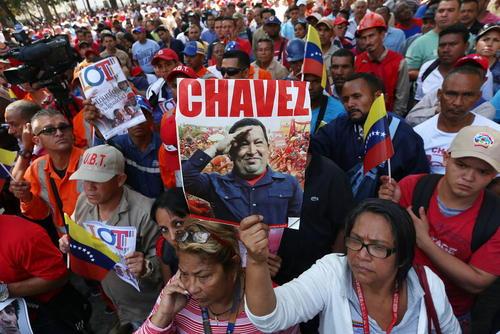 مراسم گرامی داشت هوگو چاوز رییس جمهور فقید ونزوئلا – کاراکاس