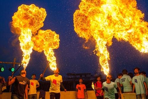 برگزاری جشنواره آیینی – داکا بنگلادش