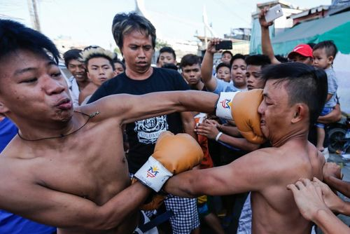 مسابقه بوکس خیابانی – مانیل فیلیپین