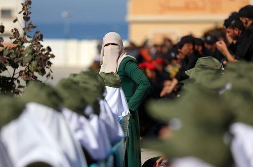 جشن فارغ التحصیلی یگان های حماس – غزه