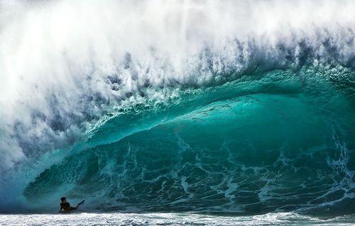 موج سواری- ساحل شمالی- اوآهو در هاوایی