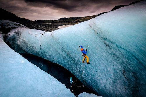 صعود به میردالس یخچال - ایسلند