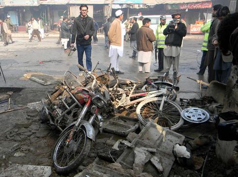 انفجار تروریستی در پیشاور پاکستان