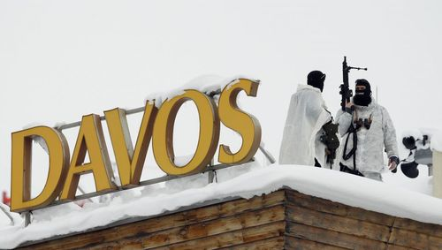 ترتیبات امنیتی در شهر داووس سوییس همزمان با برگزاری نشست سالانه مجمع جهانی اقتصاد در این شهر
