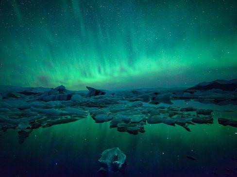 تکه های یخ- ایسلند