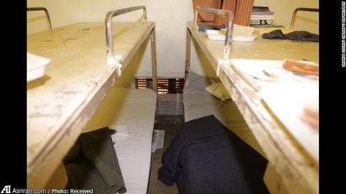 سلول سه زندانی فراری
