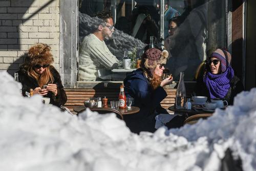بارش برف سنگین در نیویورک و واشنگتن