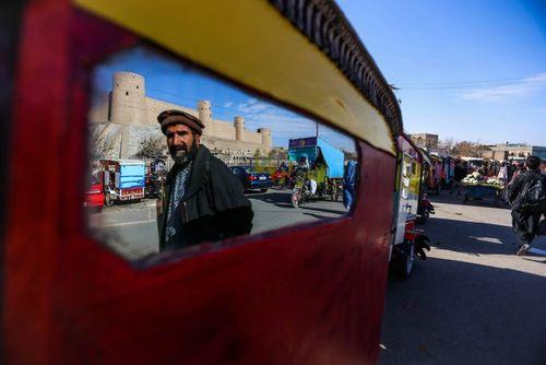 ریکشا- سه چرخه های مسافربر- در هرات افغانستان