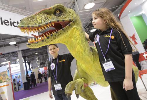 نمایشگاه سالانه اسباب بازی در لندن