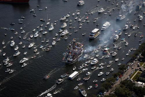 جشنواره دزدان دریایی گاسپاریلا در تامپا فلوریدا – آمریکا