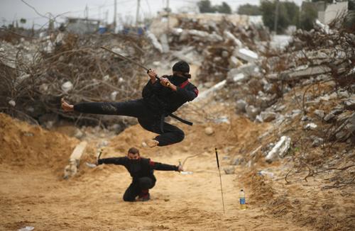 نینجاهای فلسطینی – نوار غزه