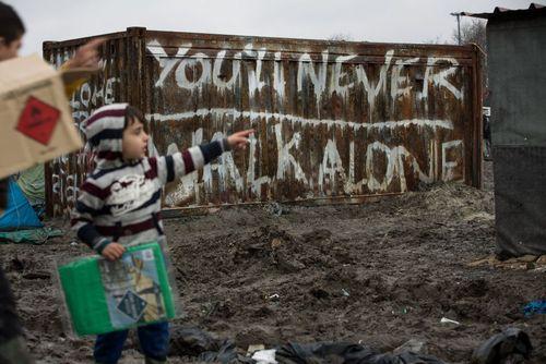 اردوگاه پناهجویان در دانکرک فرانسه