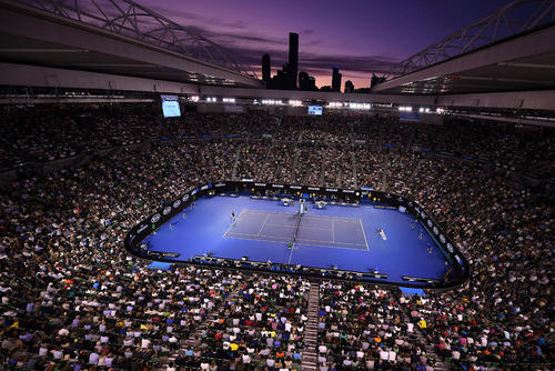 فینال مسابقات تورنمنت تنیس اپن استرالیا در ملبورن. این تورنمنت با قهرمانی نواک جاکویچ صرب پایان یافت