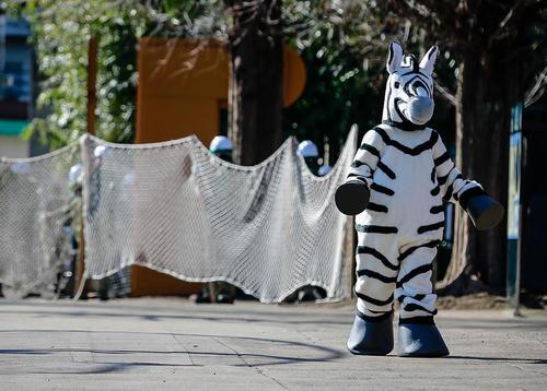 مانور مقابله با فرار حیوانات در باغ وحش توکیو