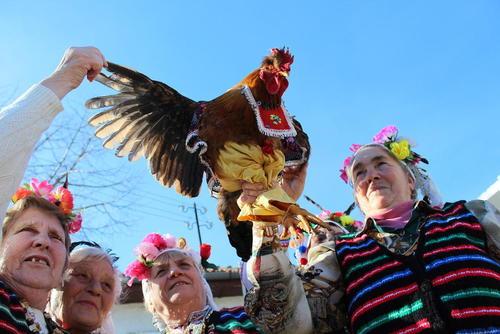 برگزاری یک جشن سنتی در شرق بلغارستان
