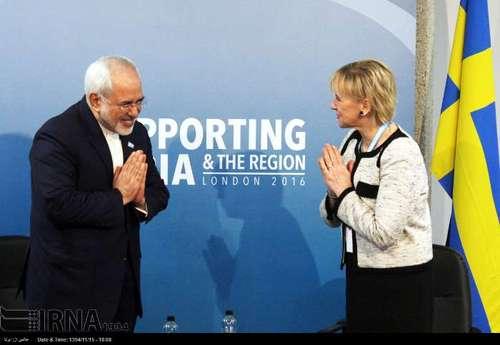 با خانم مارگوت والستروم وزیر امور خارجه سوئد