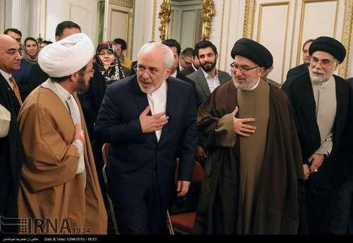 با روسای نهادهای ایرانی و ایرانیان مقیم انگلیس