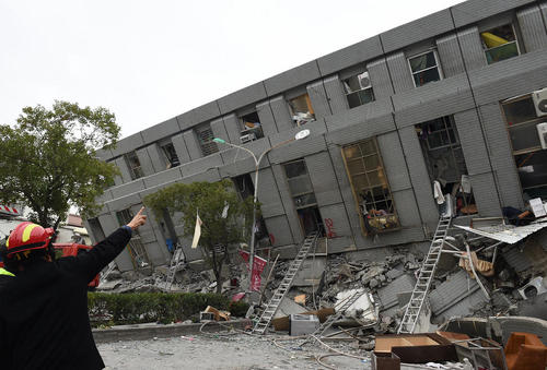 زلزله در تایوان