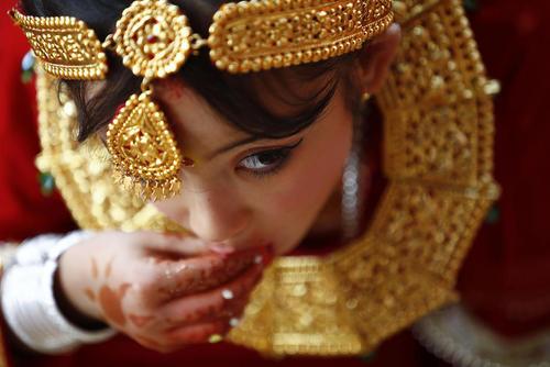 مراسم آیینی برای دختران 9 ساله – نپال