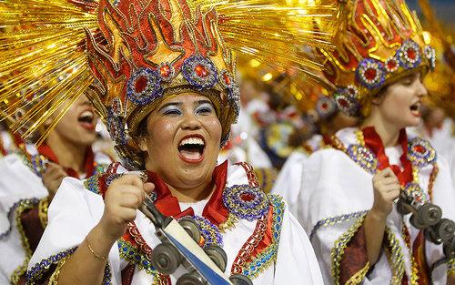 کارناوال سالانه در سائوپائولو برزیل