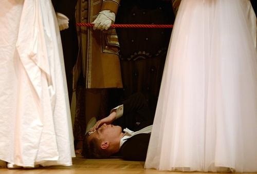 غش کردن در آیین رسمی گشایش ارکستر سمفونیک وین