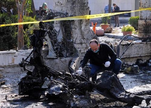 حمله انتحاری داعش به شهر دمشق
