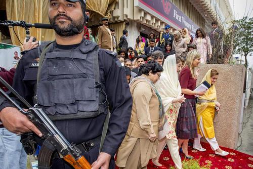 بازدید ملکه ماکسیما همسر پادشاه هلند از اسلام آباد پاکستان